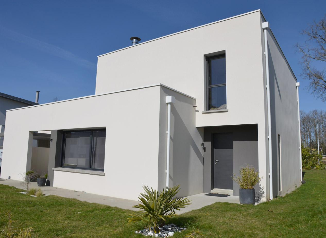 Maison Contemporaine A Nantes Alstone Architecte